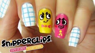 SNIPPERCLIPS NAIL ART | CutePlay Countdown #3!