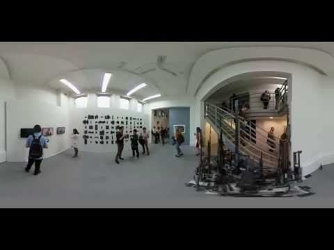360 video: UCL Slade School of Fine Art 2016 MA/MFA/PhD Degree Show