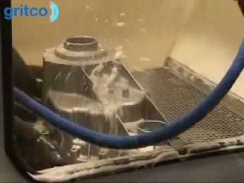 aquaBlast wet blast machine  natstraalkast  YouTube