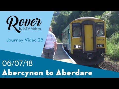 Abercynon to Aberdare Journey Video