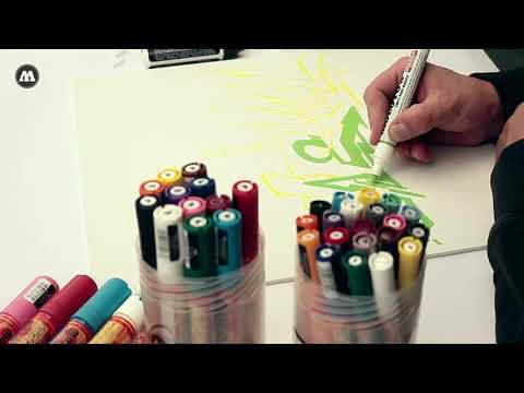 Gama de markere MOLOTOW ONE4ALL - Perfecte pentru orice stil