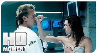 Элис сбегает из лаборатории - Обитель Зла 2: Апокалипсис (2004) - Момент из фильма