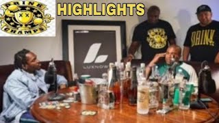 Pusha T Explains J Prince Phone Call, Taking A L With McDonald's On Drink Champs