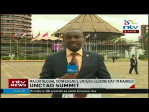 UNCTAD major global conference enters 2nd day in Nairobi