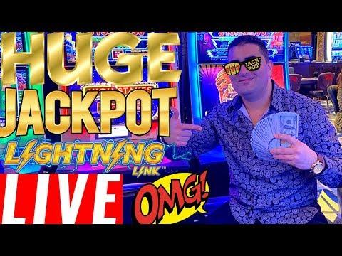 2 HANDPAY JACKPOTS ! Lightning Link MASSIVE HANDPAY JACKPOT!HARRAH'S Casino In San Diego