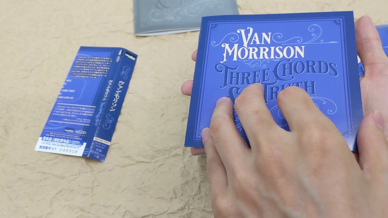 [Unboxing] Van Morrison Three Chords And The Truth
