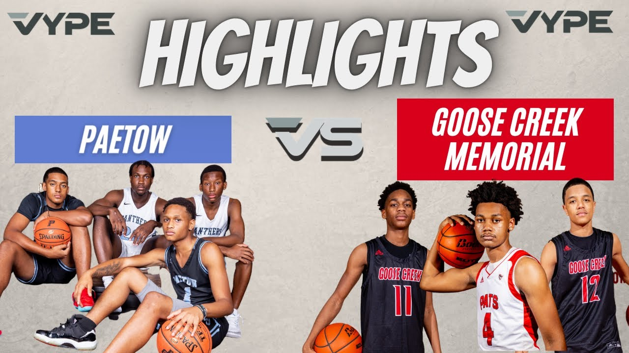 HIGHLIGHTS: Paetow vs Goose Creek Memorial // Basketball Playoffs