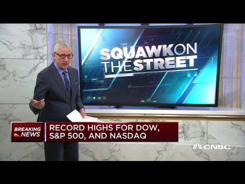 Stocks open at record highs
