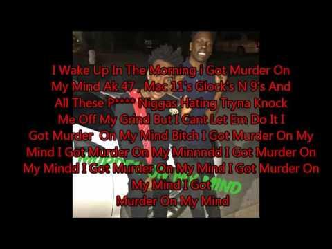 Lyrics-MELLY MURDER ON MY MIND  310637766 soundcloud