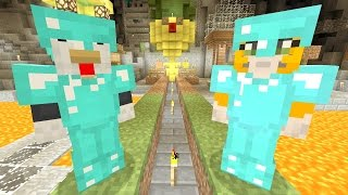 Minecraft Xbox - Cave Den - Grass Race Final (104)