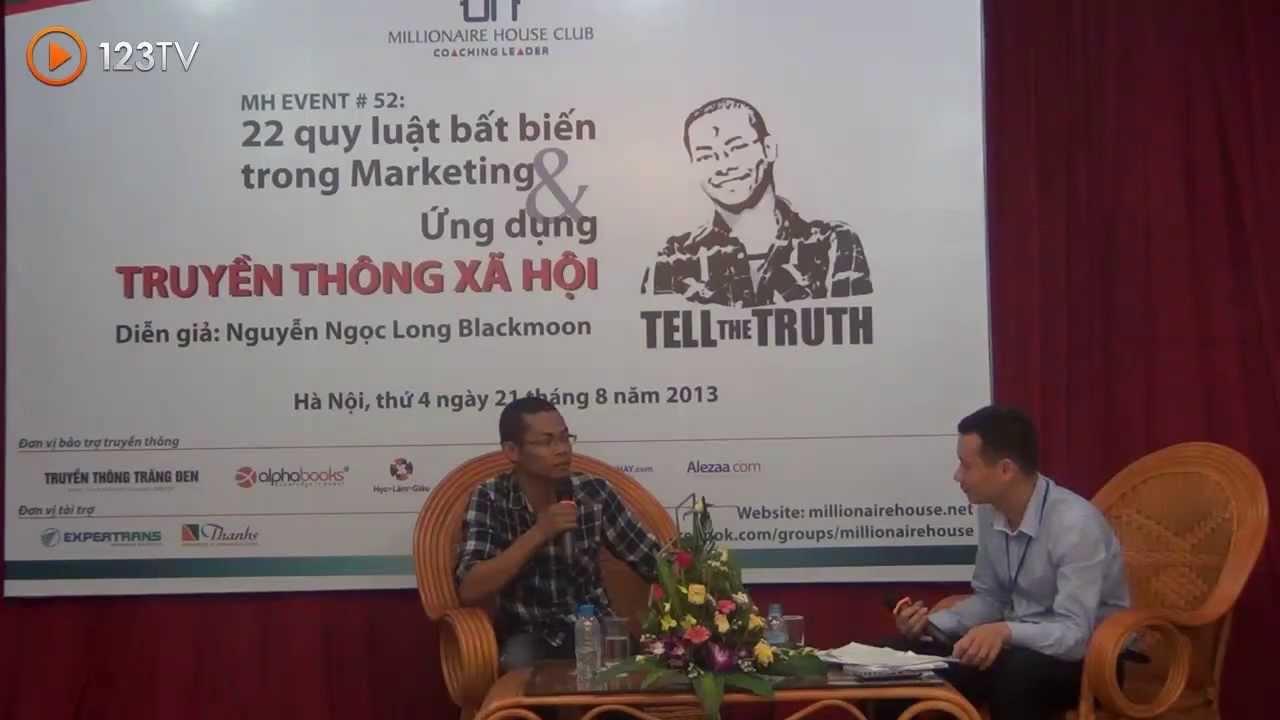 22 Quy Luật Bất Biến Trong Marketing & Ứng Dụng Truyền Thông Xã Hội Phần 1_Nguyễn Ngọc Long