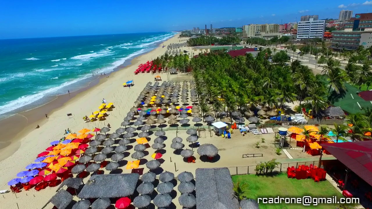 Praia Do Futuro Fortaleza Ceara Brasil Youtube