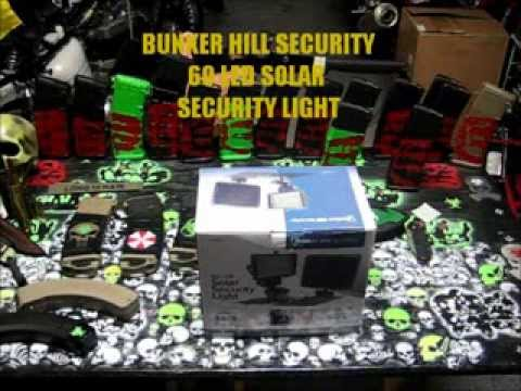 Harbor Freight 36 Led Solar Security Light Funnycat Tv