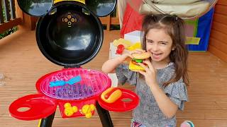 Barbecue BBQ Deluxe Full Light & Sound Playset!