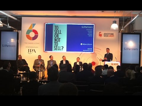 Advertising Week Europe - To Sell Or Not To Sell? Full session footage