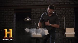 Forged in Fire: Stock Steel Damascus Tests (Season 5) | History
