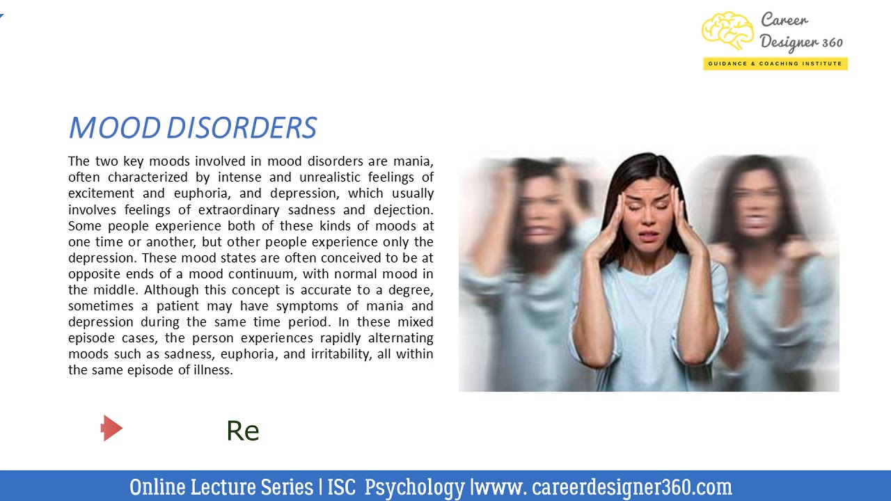 Mood Disorders |  ISC Psychology | Introduction