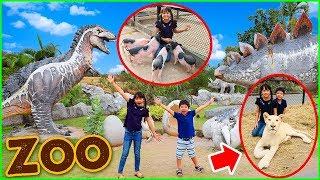 สกายเลอร์ | บรีแอนน่าเข้าไปอยู่ในกรงกับสิงโต 🦁 ที่สวนสัตว์ Bonanza Exotic Zoo เขาใหญ่ ตื่นเต้นสุดๆ