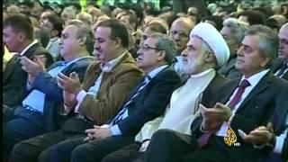 حديث حسن نصر الله عن احتمال الدعوة للتعبئة العامة