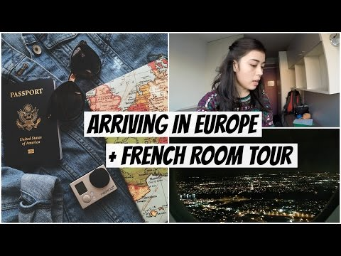 Arriving in Europe + French Room Tour | Study Abroad