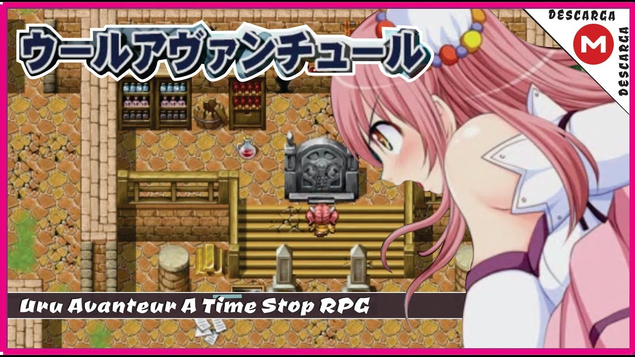 nagiyahonpo - uru avanteur: a time stop rpg (english)
