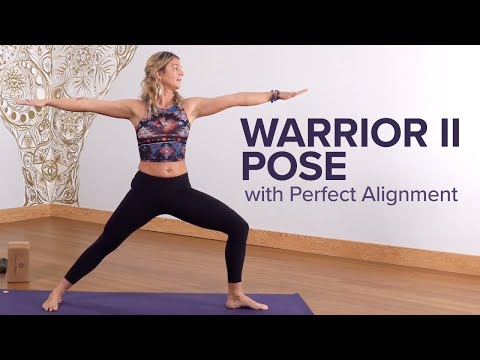 How to Do Warrior II Pose with Correct Alignment
