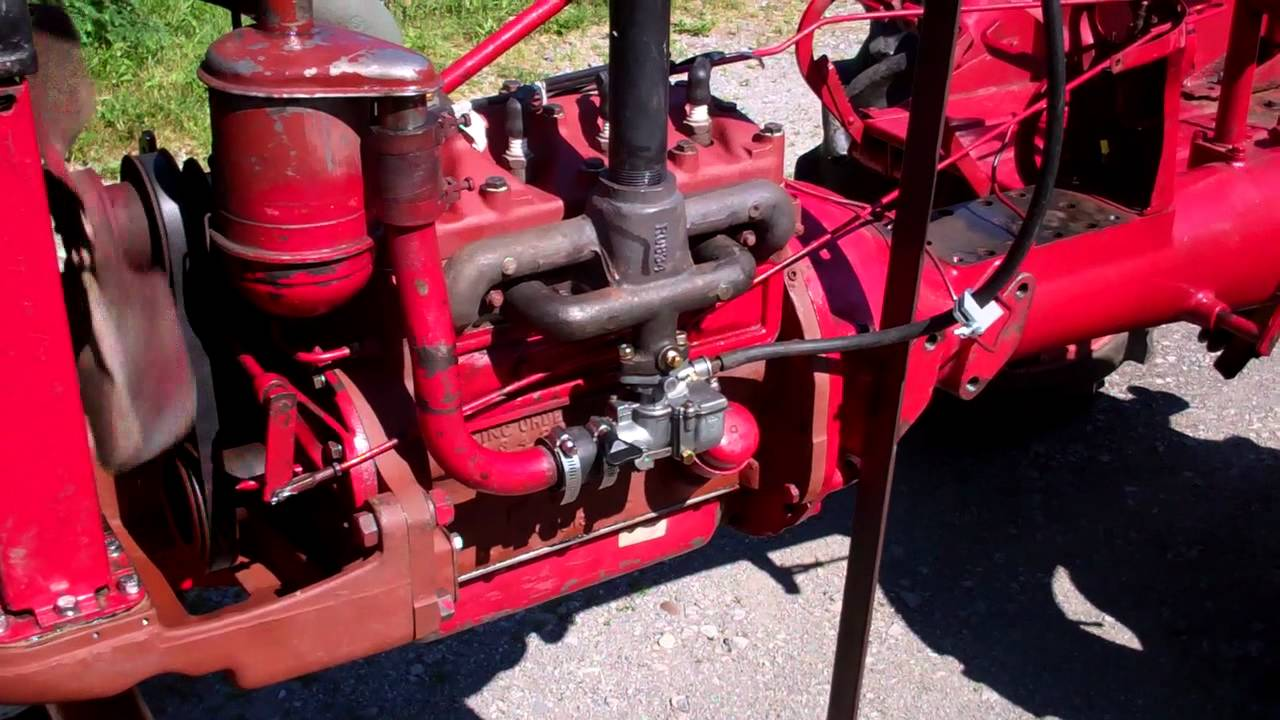 1948 farmall f cub is alive