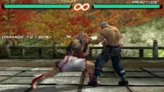 Tekken 6 PSP Steve Fox Combo by tekadik