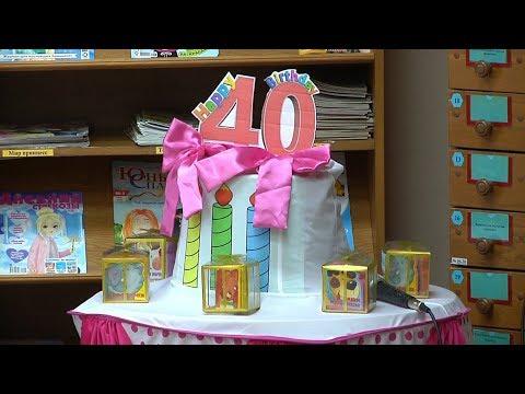Детской библиотеке – 40 лет!