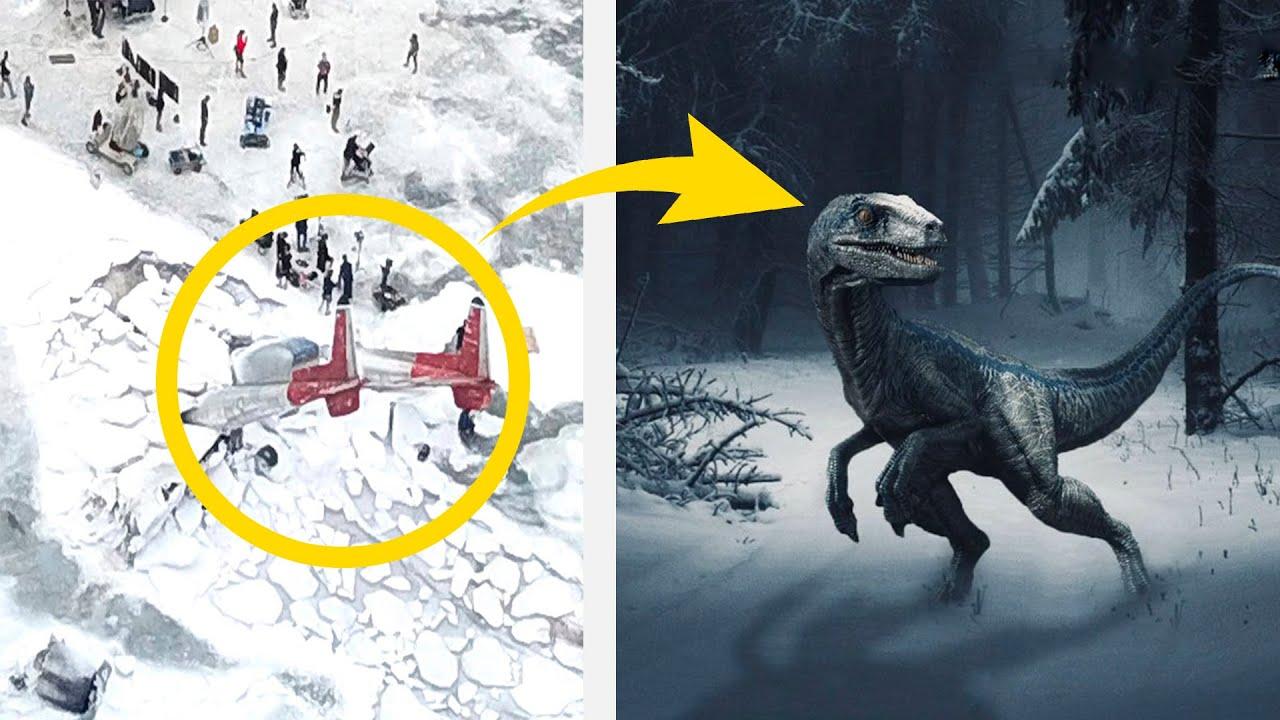 Se revelan las primeras imágenes de Jurassic World 3