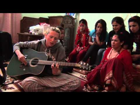 Laura Duncan Performing Lullaby Live in Nepal