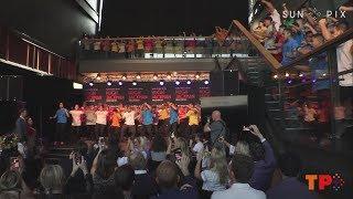 Hugh Jackman & Keala Settle perform with Oceanian Voices Choir + Haka