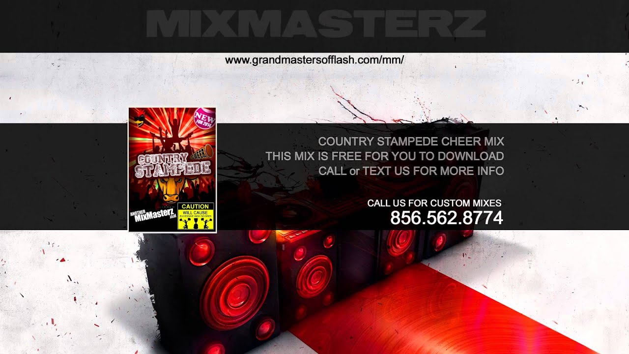 Country Cheer Music Mix - Country Stampede