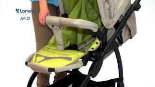 Бебешка количка   Lorelli   Combi Stroller AVIO 2in1  EN    цена от 4BABY BG(WWW.4BABY.BG - Тук може да откриете нашите детски играчки стоки за бебето както и игри сортирани по категории...., 2015-03-07T16:42:52.000Z)