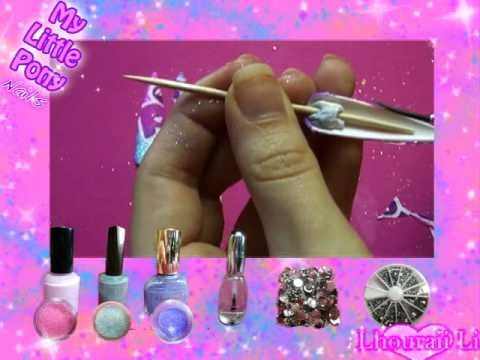 Nail Art How To Design My Little Pony Nails Tampa Nail Salon