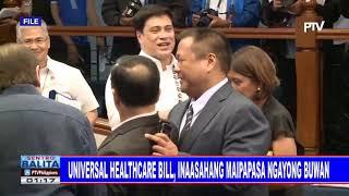 Universal Healthcare bill, inaasahan maipapasa ngayong araw