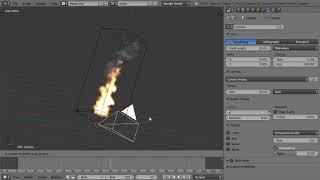 Blender Урок. Симуляция огня и дыма. 03 - Создание огня