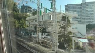 N700系新幹線 G40編成 ひかり504号 東京行き 三島 (通過) ~ 小田原 (通過)