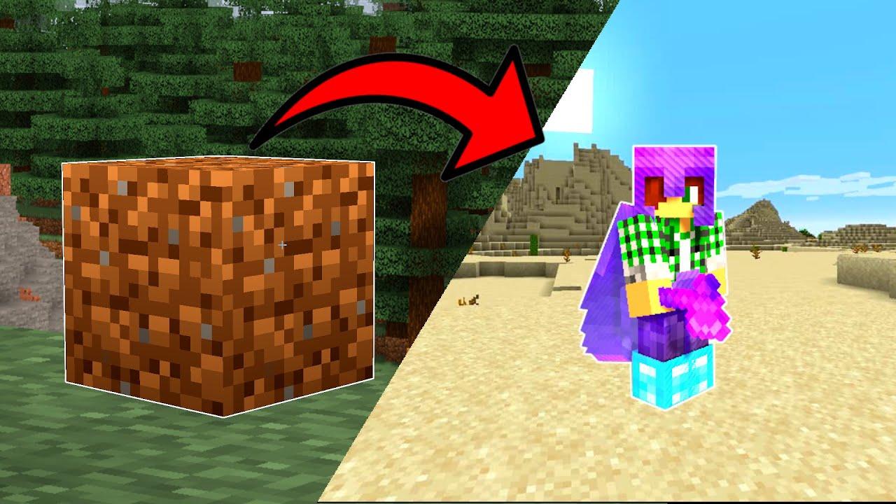 Minecraft, ALE HLÍNA JE OP....
