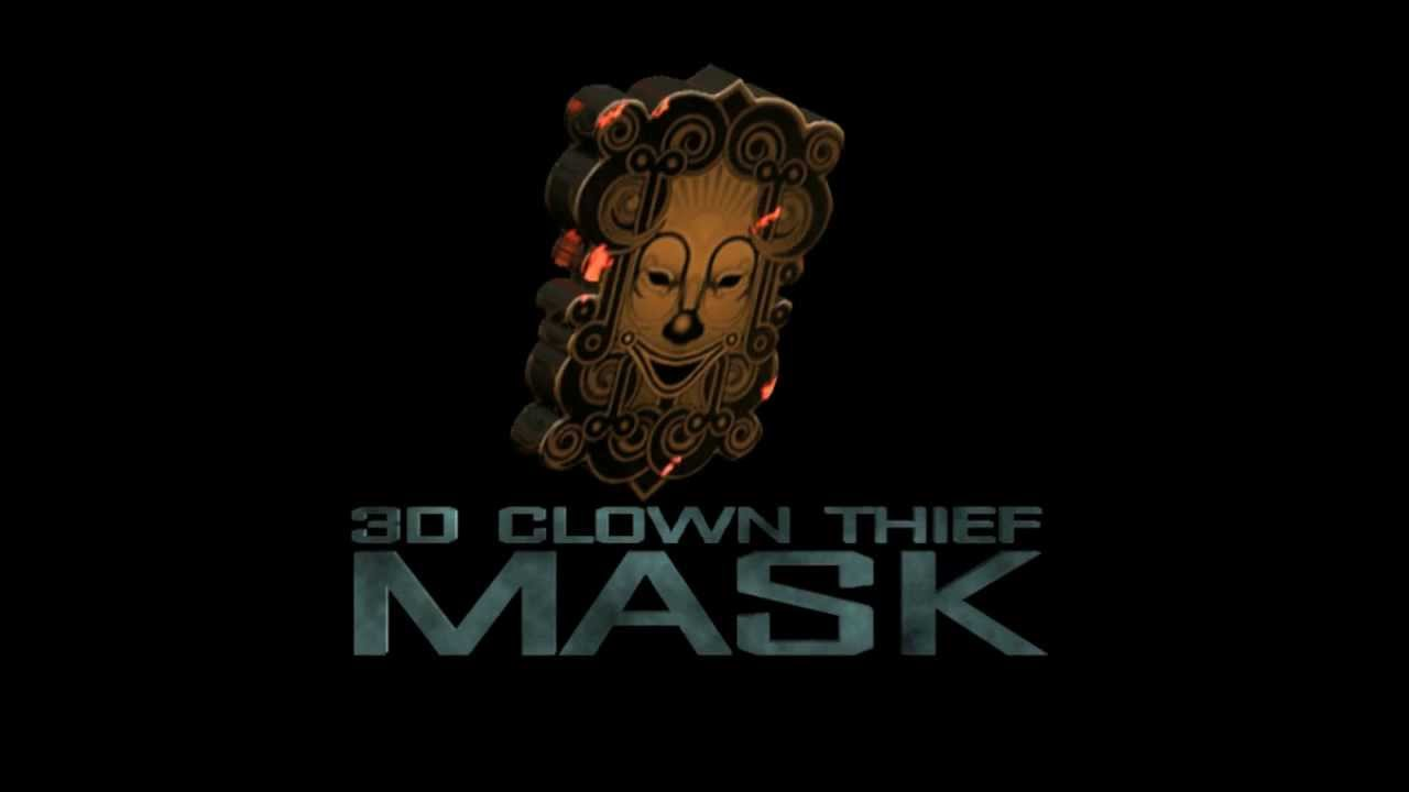 dhoom 3 clown mask