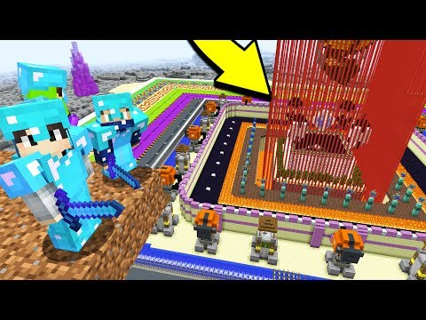 how to make lava in minecraft