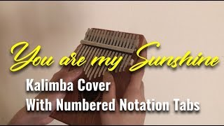 YOU ARE MY SUNSHINE | KALIMBA Cover | Basic Kalimba Tutorial | Easy Practice | With Tabs