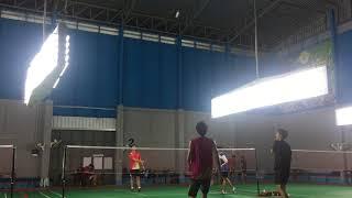 MJ  Kait vs Foei  Ping  Badminton thumbnail