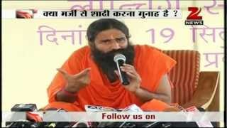 Same gotra marriage leads to genetic disorder: Baba Ramdev