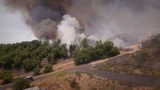 North County San Diego Fire 2014