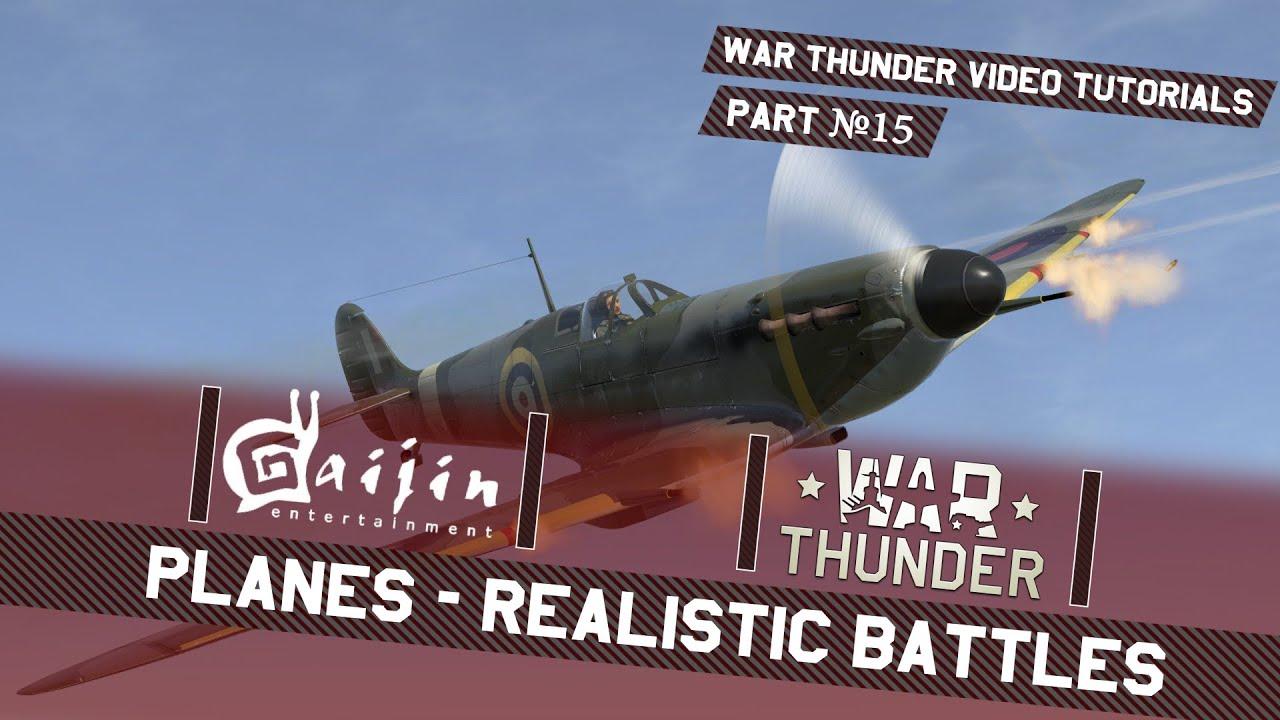 war thunder realistic battles