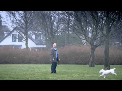 Dog imitates a Volkswagen funny VW ad