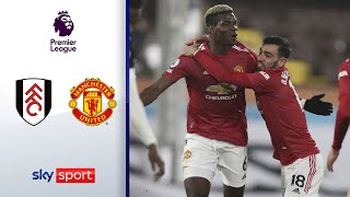 Pogba Traumtor sichert Platz 1 | FC Fulham - Manchester United 1:2 | Highlights - Premier League