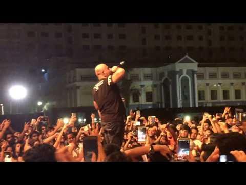 VISHAL DADLANI live concert at srm university MILAN