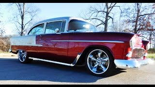 1955 Chevrolet Bel Air Street Rod Steve Holcomb Pro Auto Custom Interiors